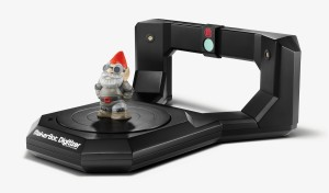 MakerBot® Digitizer™ Desktop 3D Scanner (credit: Spencer Higgins)
