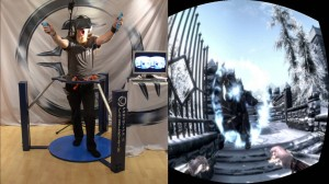 Cyberith Virtualizer and the Oculus Rift drop you into Skyrim