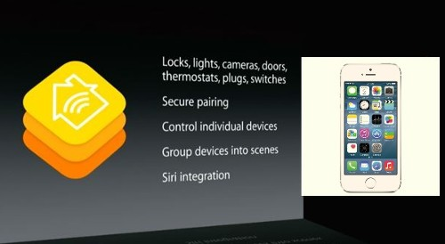 HomeKit WWDC Slide