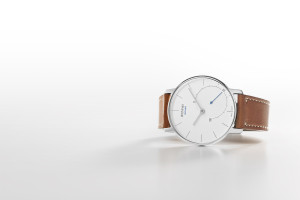 Withings Activité, silver, side