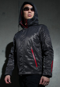 The Shield jacket by Avid Union.
