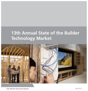 CEA Annual State of Builder Technology Market Study