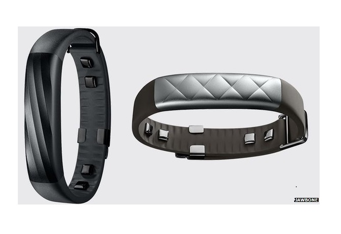 Jawbone UP3... looks just like its newly announced sibling the UP4