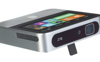 ZTE SPRO 2 Projector Saves the Day
