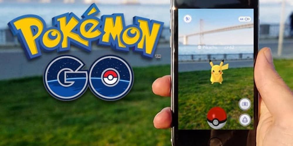 Pokémon GO with augmented reality