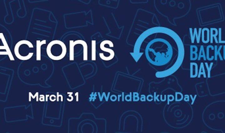 Acronis World Backup Day