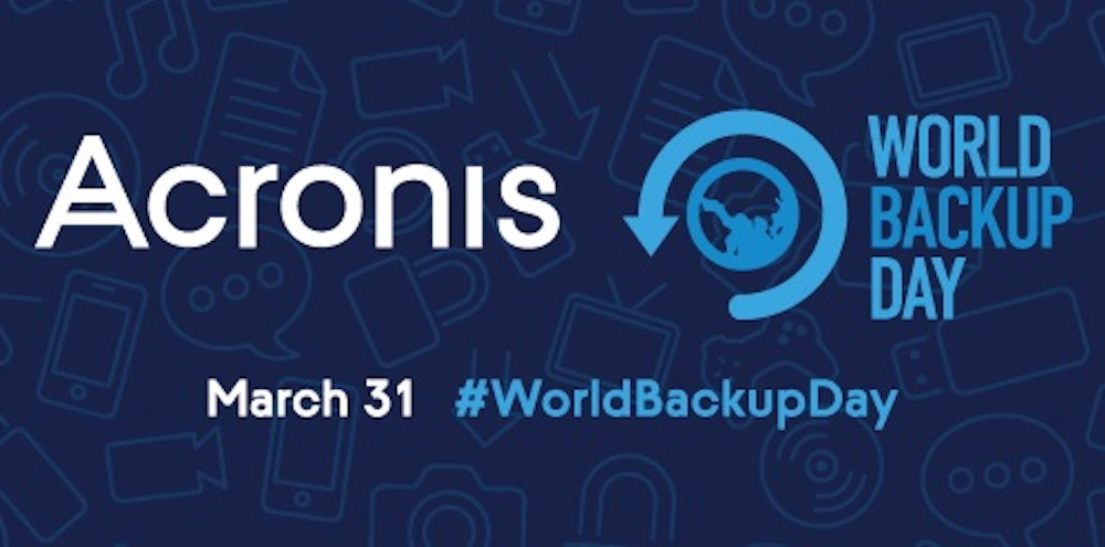 Acronis World Backup Day