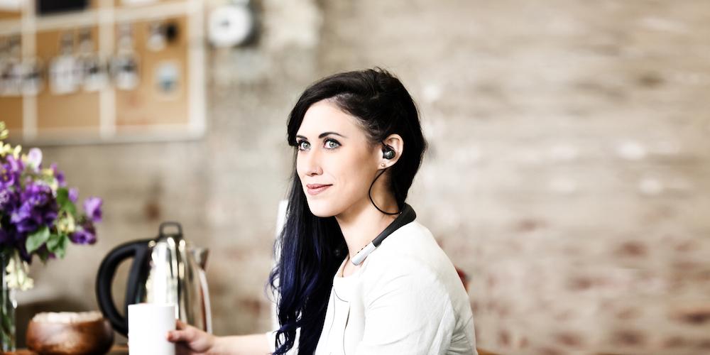 ONvocal OV Headphones feature Amazon Alexa.