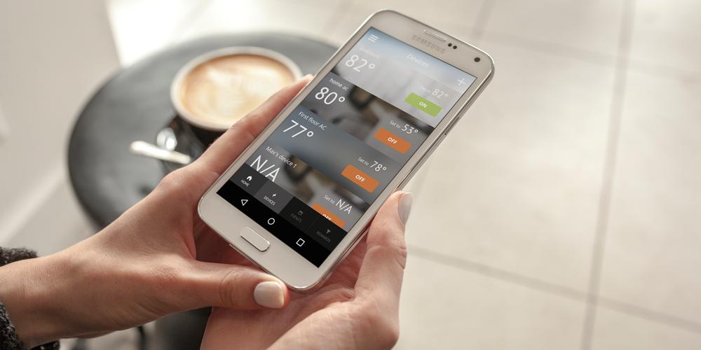 ThinkEco's smartAC app.