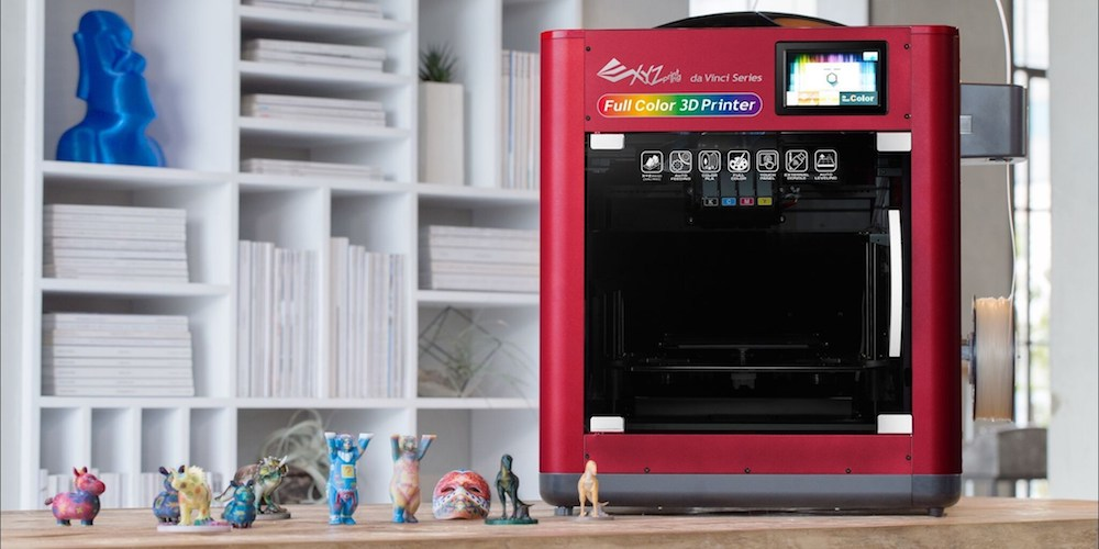 The da Vinci Color - a 3D color printer, from XYZprinting.