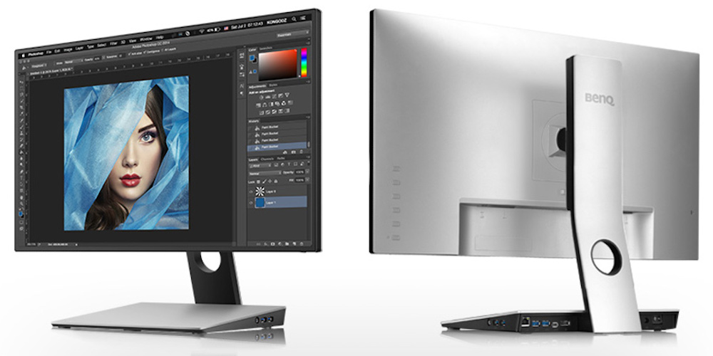 "BenQ 27"" Designer Monitor is USB-C connected and packed with features."