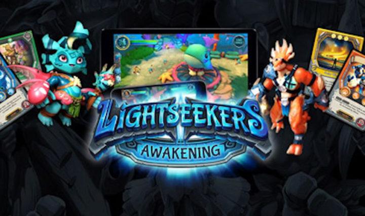 Lightseekers Card Game, Digital Game and Smart Figures.