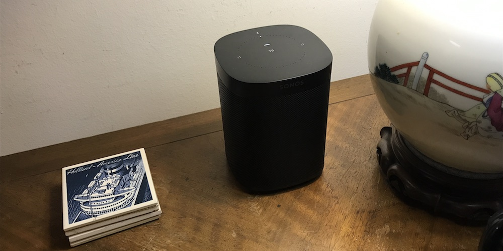 Sonos One Wireless Speaker with Amazon Alexa.