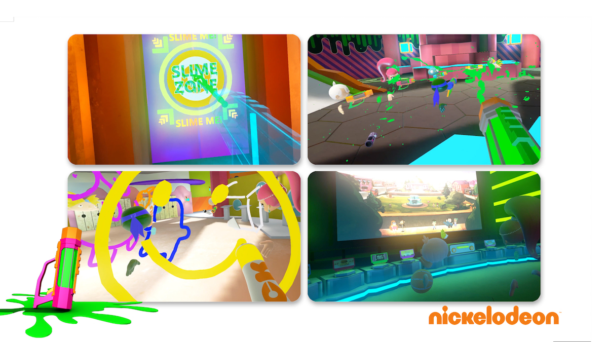 SlimeZone is puts users into a Nickelodeon world at IMAX VR centres.<br/>Image Credit: IMAX VR