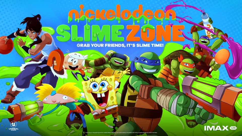 Nickelodeon SlimeZone BannerImage Credit: IMAX VR