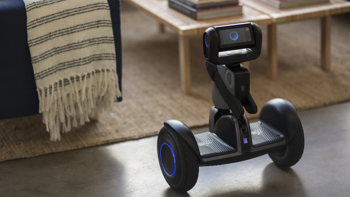 Loomo Robot sidekick and transporter can act as an avatar for the user.