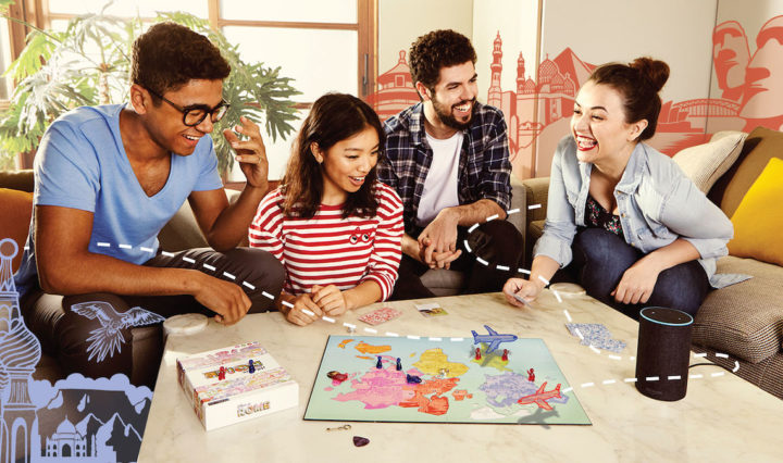 'When in Rome' Alexa-Powered Board Game.