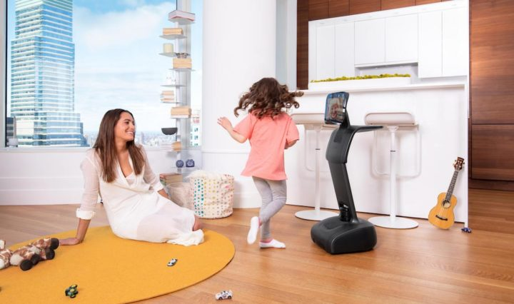 The tēmi robot is ready to be part of the home experience.