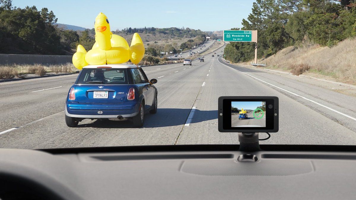 Owl Car Camera captures all the OMG moments you come across on the road.