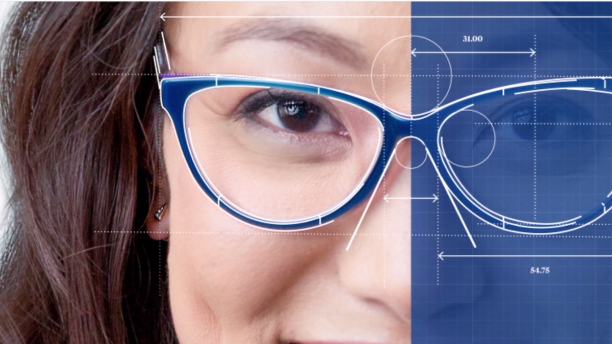 Topology creates eyeglasses that are truly customized to each and every face.